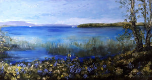 Bluebells by Lough Derg - Kate Knowles Artist