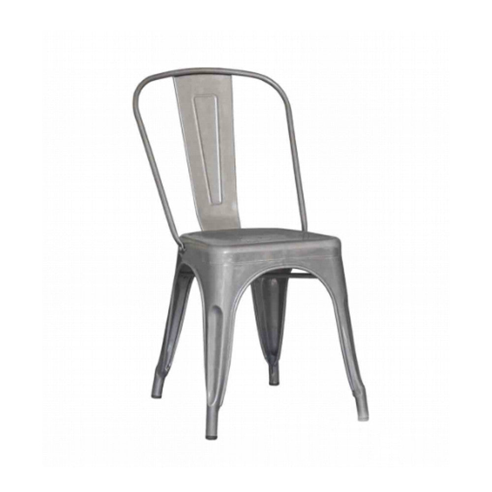 chair metalic