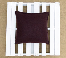 Load image into Gallery viewer, Nancy Cushion in Burgundy (Large)
