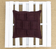 Load image into Gallery viewer, Valerie Cushion in Burgundy (Large)
