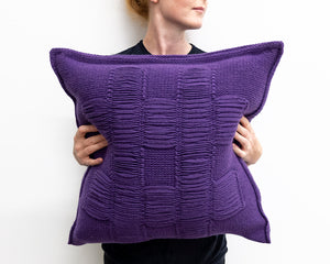 Nancy Cushion in Heather (Large)