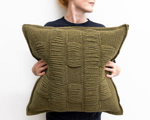 Nancy Cushion in Sage (Large)
