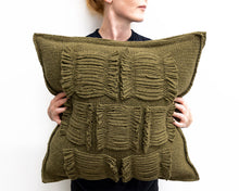 Load image into Gallery viewer, Valerie Cushion in Sage (Large)