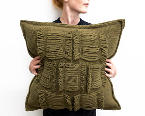 Valerie Cushion in Sage (Large)