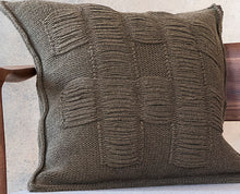 Load image into Gallery viewer, Nancy Cushion in Sage (Large)