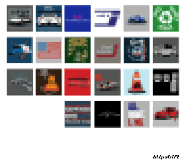 Apex Everything 2019 Pixelated Grid