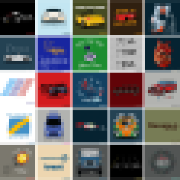 2019 Automn Sale Pixelated Grid