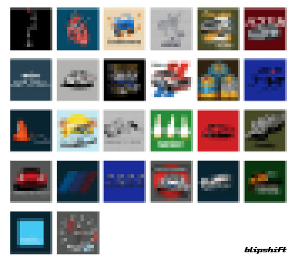 96h of BS Sale Pixelated Grid