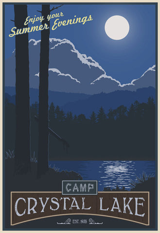 Crystal Lake Poster