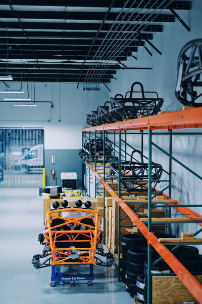 Ariel Atom Factory Warehouse