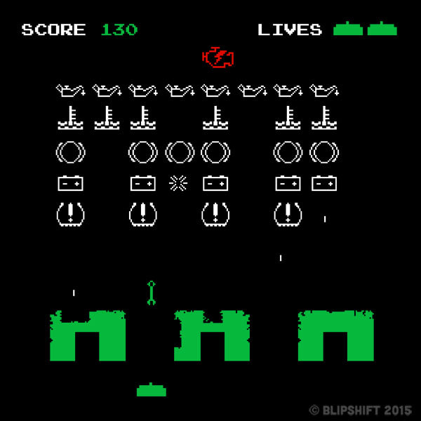 Dash Space Invaders