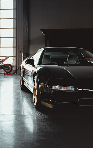 Black NSX Mobile