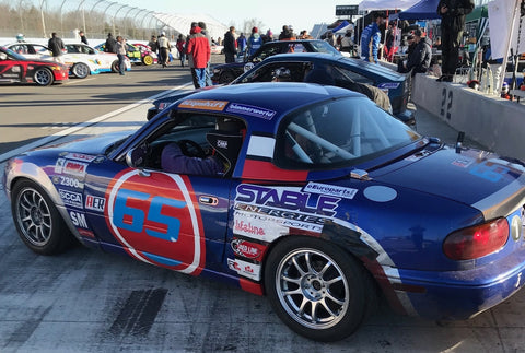 Miata on the grid