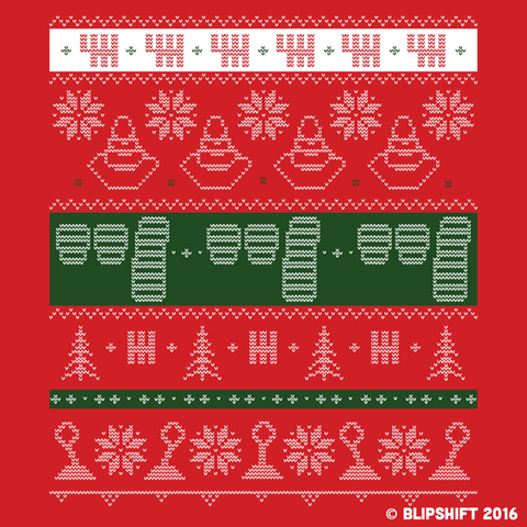 Manual Ugly Holiday Sweater Tee