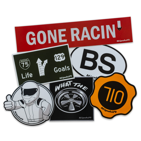 New 96 Hours of BS Stickers