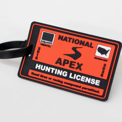 Hunting License Luggage Tag