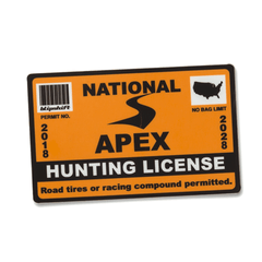 2018 Hunting License Sticker