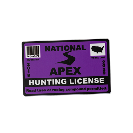 2019 Apex hunting license