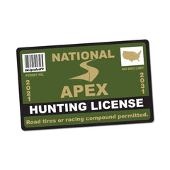2021 Apex Hunting License
