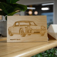Lugcraft Engraved 914 Wood Wall Art