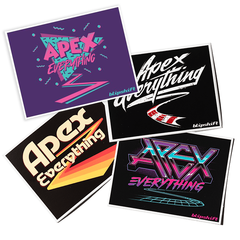 Apex All The Things Sticker Pack II