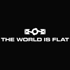 World is Flat 2.0 Decal