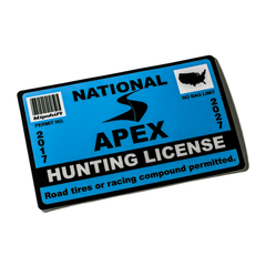 2017 Hunting License Sticker