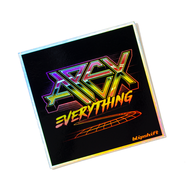 Apex Everything 80s Holographic Sticker