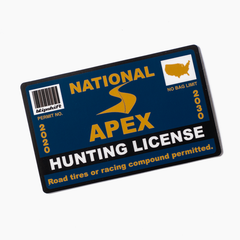 2020 Apex Hunting License