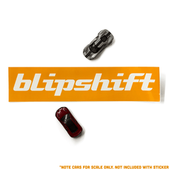 Large blipshift sticker