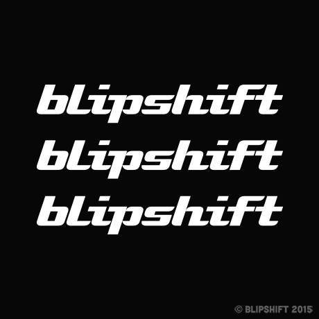 Blipshift Decal Trio