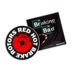 The Brake Sticker Pack
