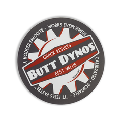Butt Dynos Sticker