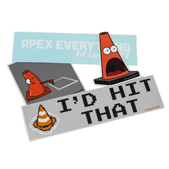 Cone Killer Sticker Bundle