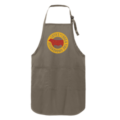 Dry Rubbin' is Racing Apron