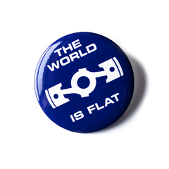 Flatspiracy Button