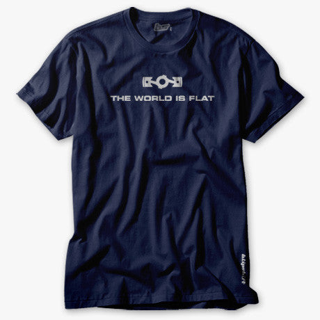 Flatspiracy 2.1 boxer Subie engine shirt