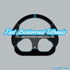 Flat Bottomed Wheels