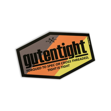 Gutentight Sticker