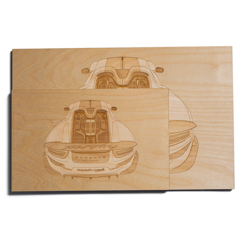 Lugcraft Engraved Spyder Wood Wall Art