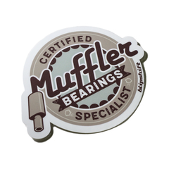 Muffler Bearings Sticker