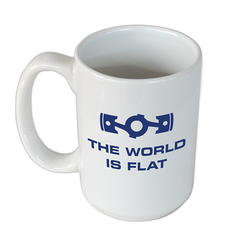 World is Flat Mug