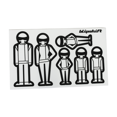 Racing Family Stickers