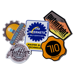 Recertification Sticker Bundle