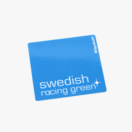 Swedish Racing Green Sticker