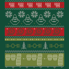 Ugly Holiday Sweater Tee