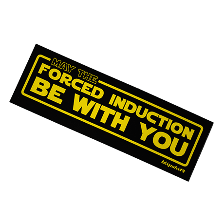 Use the Force bumper sticker