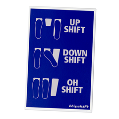 What The Shift Sticker