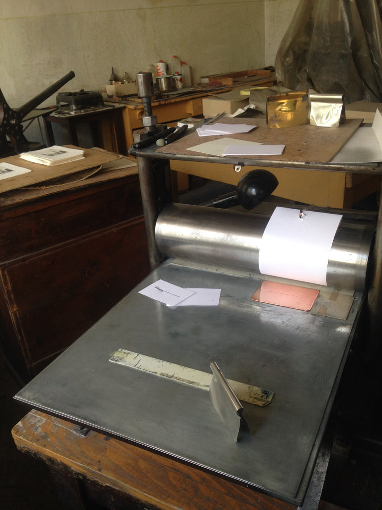 The last printer of copper plate in Vienna