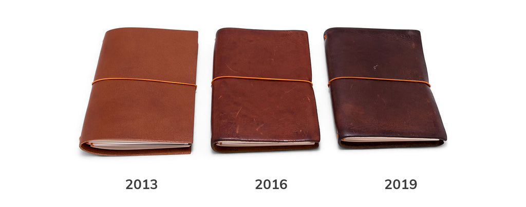 paper republic leather patina